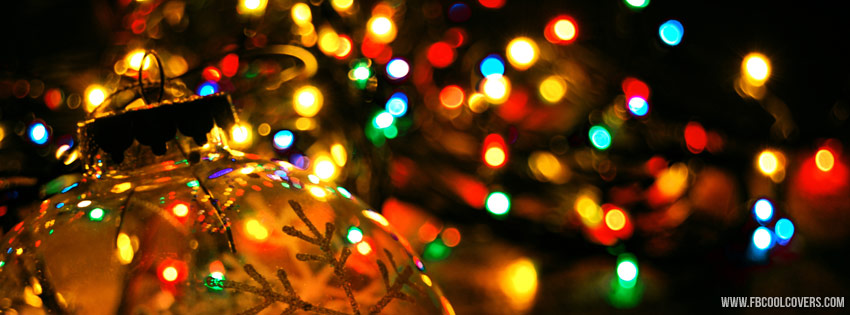 Christmas Lights Facebook Covers | Christmas FB Covers 2016