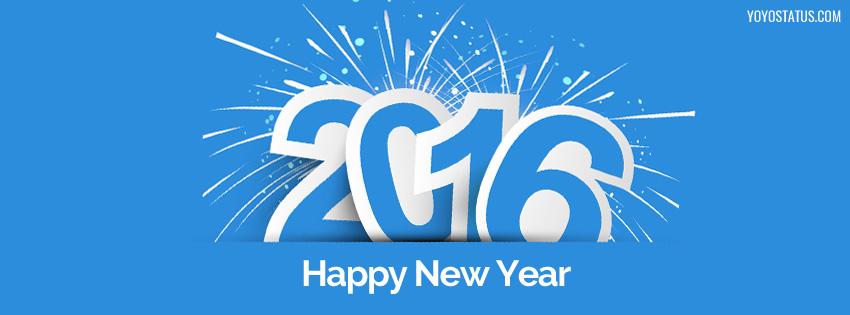 Happy New Year 2016 Cover Photo for FB - YoYo Pics
