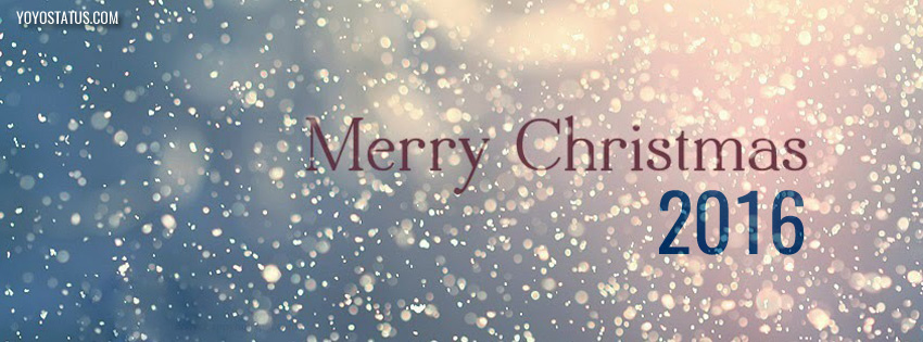 Snow Merry Christmas 2016 Fb Timeline cover | Christmas Covers