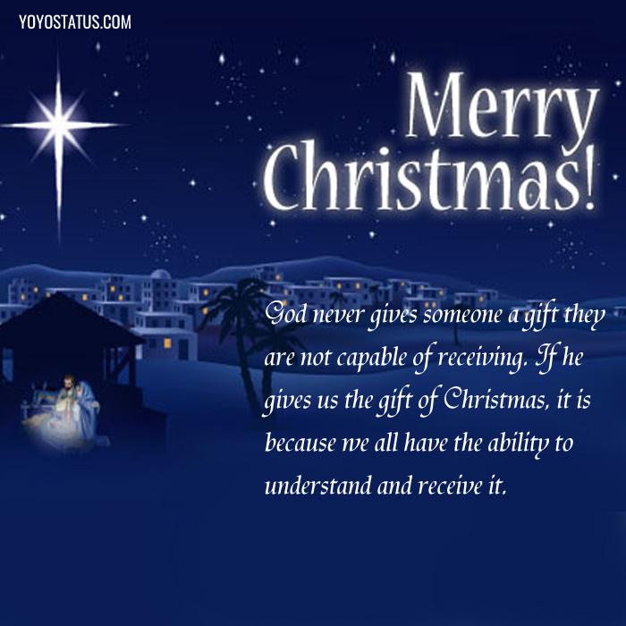 Merry Christmas Quotes Photo - YoYo Pics