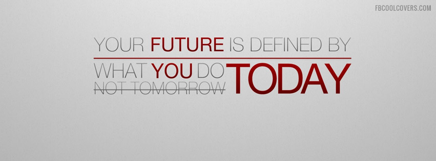 what you do today facebook cover