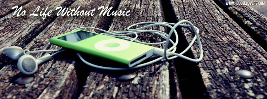 Music Facebook Cover Music Quotes Fb Covers Headphones Ipod Cover